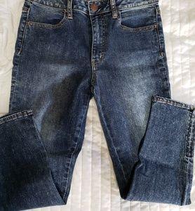 American eagle high waisted zipper ankle pants